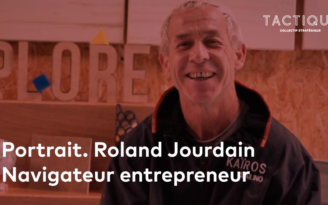 Portrait. Roland Jourdain