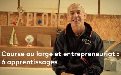 Course au large et entrepreneuriat : Roland Jourdain partage 6 parallèles, aux allures d'apprentissages …