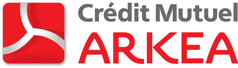 Logo de la banque Crédit Mutuel Arkéa qui finance Tactique